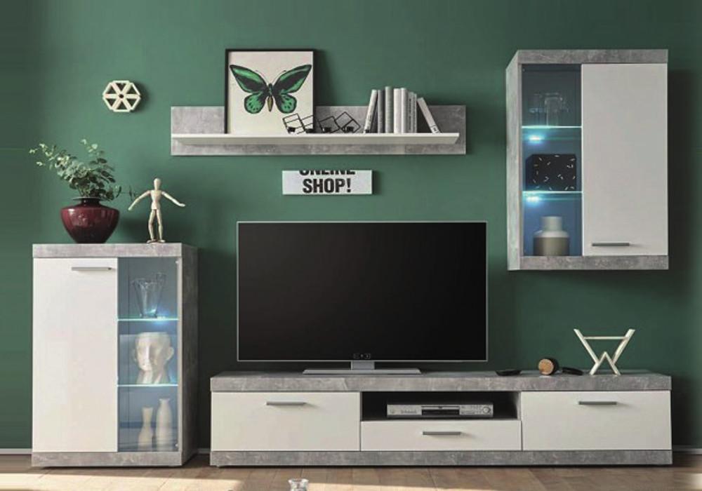 Muebles de salón con luces LED ¡SOLO 350 €! El Chollo Muebles