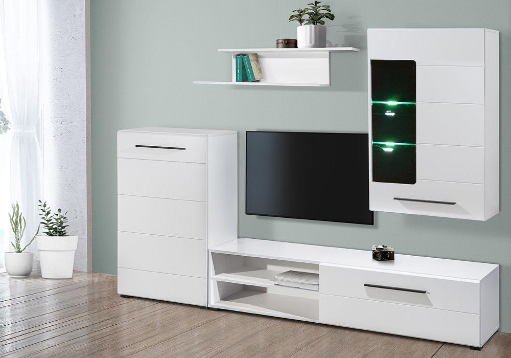 Muebles de salón con luces LED ¡SOLO 229 €! El Chollo Muebles