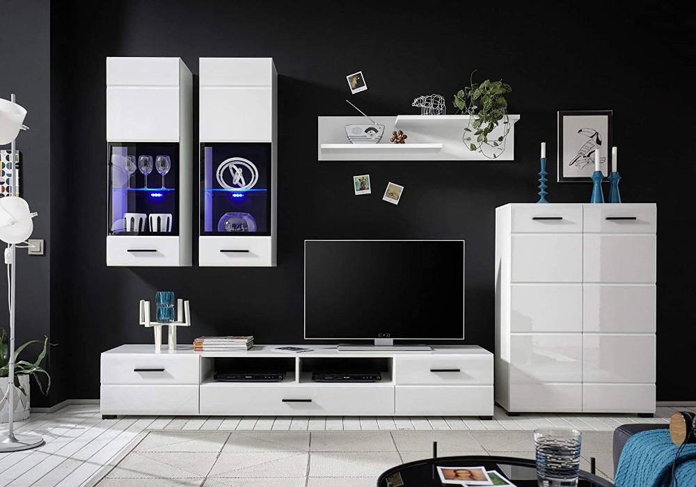 Muebles de salón con luces LED ¡SOLO 430 €! El Chollo Muebles